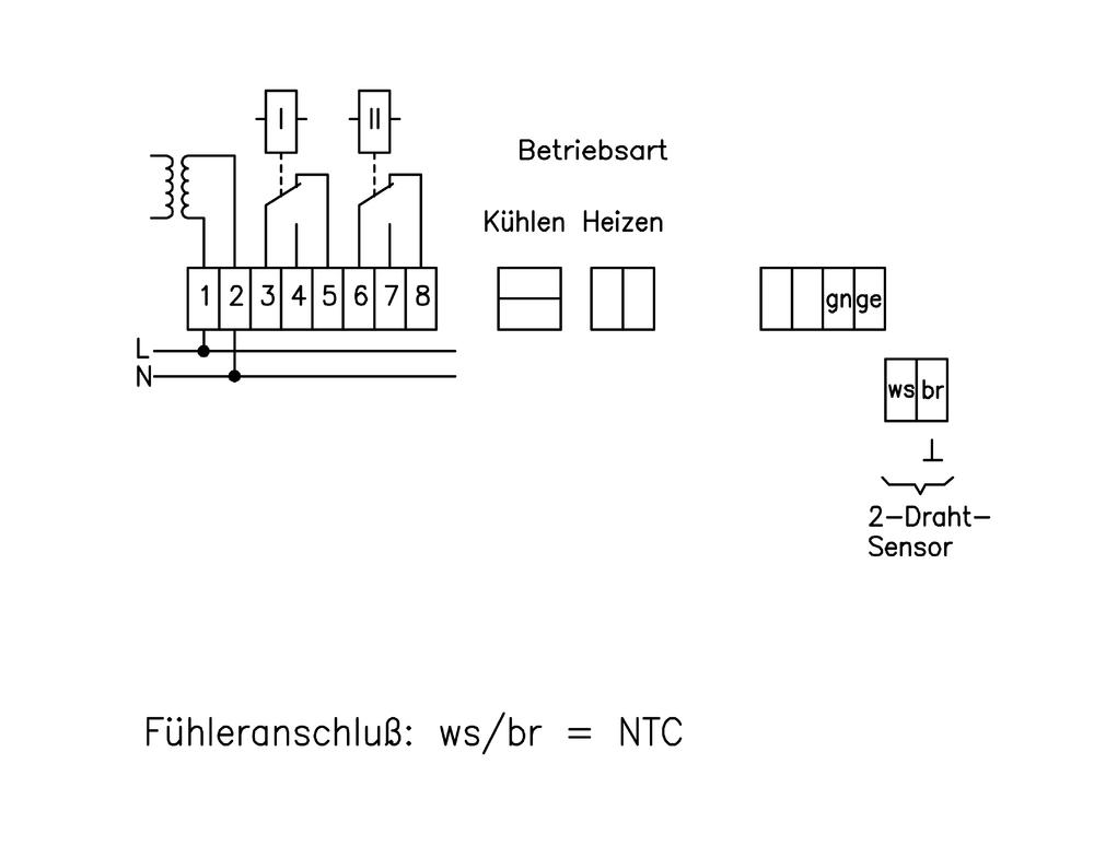 Großartig Verdrahtung 3 Draht Näherungsschalter Bilder - Elektrische ...